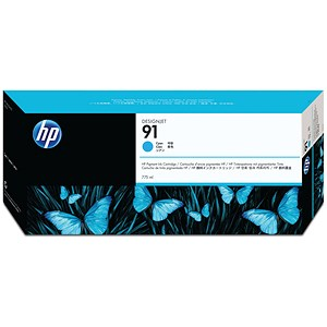 Image of HP 91 Cyan Ink Cartridge