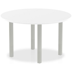Image of Impulse Circular Table / 1200mm Diameter / White