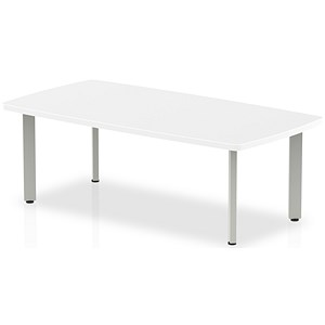 Image of Impulse Coffee Table / 1200mm Wide / White