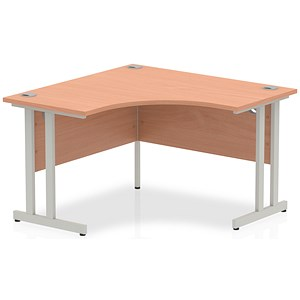 Image of Impulse Call Centre Desk / 1200mm Wide / Beech
