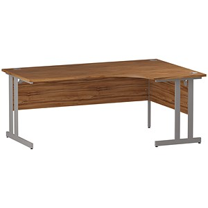 Image of Impulse Corner Desk / Right Hand / 1800mm Wide / Walnut