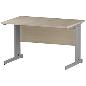 Image of Impulse Plus Rectangular Desk / 1200mm Wide / Maple