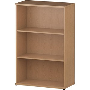 Image of Impulse Medium Bookcase - Oak