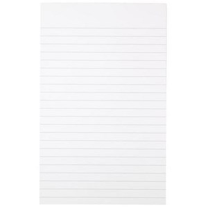 Image of Cambridge Memo Pad / 203x127mm / Ruled / 80 Sheets / Pack of 10