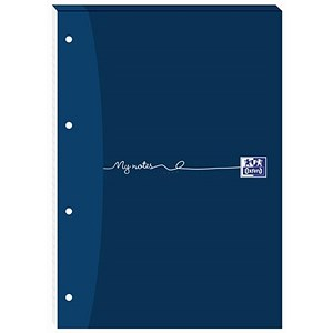 Image of Oxford MyNotes Headbound Refill Pad / A4 / Squared 5mm / 4 Holes / 160 Pages / Pack of 5