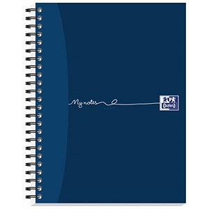 Image of Oxford MyNotes Wirebound Notebook / A5 / 2 Holes / Ruled with Margin / 160 Pages / Pack of 5