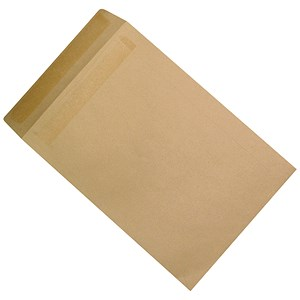 Image of 5 Star Plain C4 Envelopes / Manilla / Press Seal / 115gsm / Pack of 250
