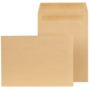 Image of New Guardian C4 Pocket Envelopes / Manilla / Press Seal / 90gsm / Pack of 250