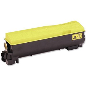 Image of Kyocera TK-570Y Yellow Laser Toner Cartridge