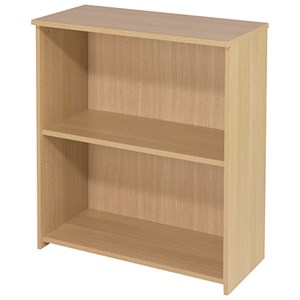 Image of Jemini Intro Low Bookcase - Oak