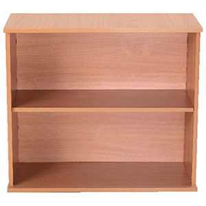 Image of Jemini Intro Desk High Bookcase / 800mm Wide / Beech