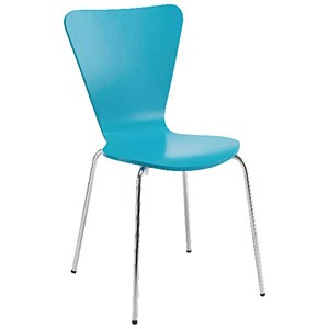 Arista Bistro Chair Blue