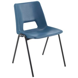 Image of Jemini Classroom Chair / 430mm / 11 - 14 Years / Blue