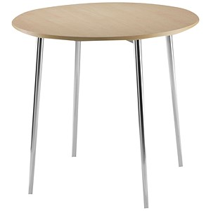 Image of Arista Round Bistro Table - Beech