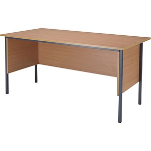 Image of Jemini Intro Traditional Desk / 1500mm Wide / Beech