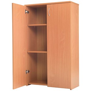 Image of Jemini Intro Medium Cupboard - Beech