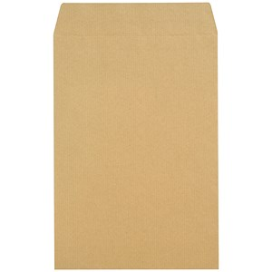 Image of New Guardian Heavyweight C4 Pocket Envelopes / Manilla / Press Seal / 130gsm / Pack of 250
