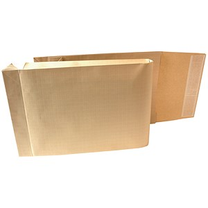 Image of New Guardian Armour Gusset Envelopes / 465x340mm / 50mm / Peel & Seal / Manilla / Pack of 100