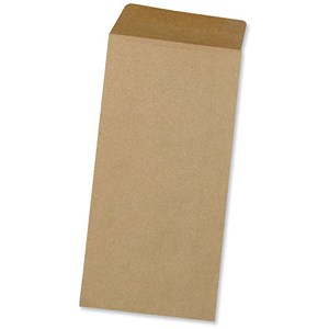 Image of 5 Star Plain DL Pocket Envelopes / Manilla / Gummed / 80gsm / Pack of 1000