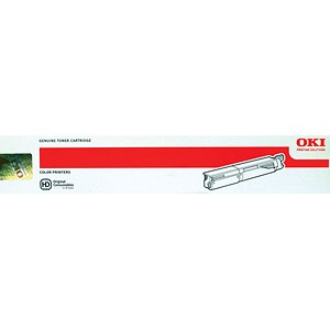 Image of Oki 43459329 Yellow Laser Toner Cartridge
