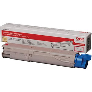 Image of Oki 43459330 Magenta Laser Toner Cartridge