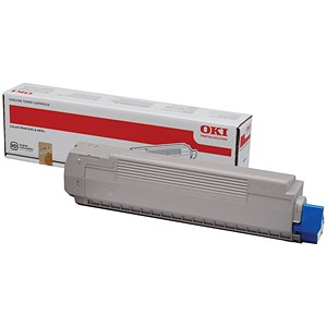 Image of Oki MC861 Yellow Laser Toner Cartridge