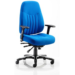Image of Barcelona Deluxe Operator Chair - Blue