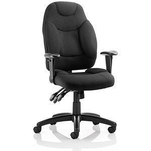 Image of Galaxy Operator Chair - Black