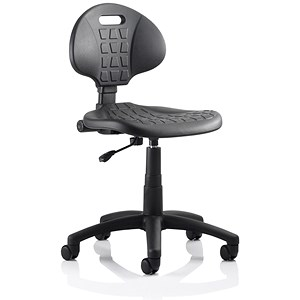 Malaga Standard Lab Chair Black