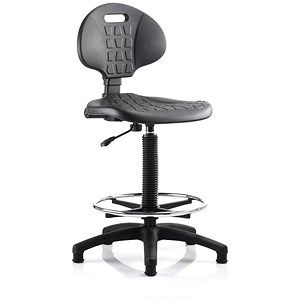 Image of Malaga High Lab Chair - Black