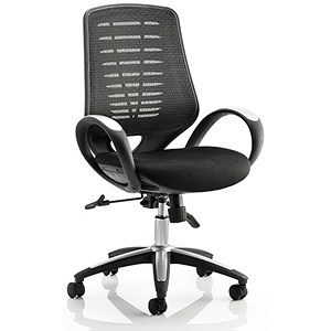 Image of Sprint Airmesh Operator Chair - Black