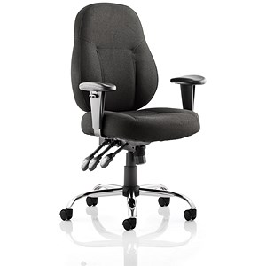 Image of Storm Operator Chair - Black