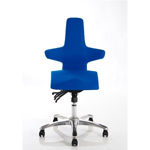 Image of Saltire Posture Chair - Blue