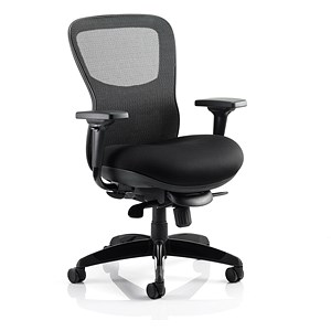 Image of Stealth Shadow Ergo Posture Chair / Airmesh Seat / Mesh Back / Black