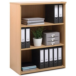Image of Momento Medium Bookcase - Oak