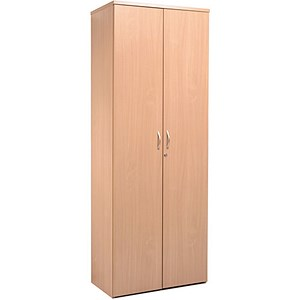 Image of Momento Extra Tall Cupboard - Oak