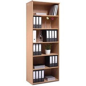 Image of Momento Extra Tall Bookcase - Oak