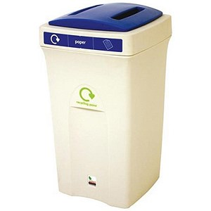 Image of Recycling Bin / 100 Litre / Blue