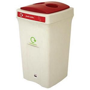 Image of Recycling Bin / 100 Litre / Red