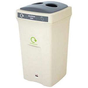 Image of Recycling Bin / 100 Litre / Grey