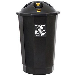 Image of Recycling Cup Bank - Black