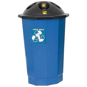 Image of Recycling Cup Bank - Blue