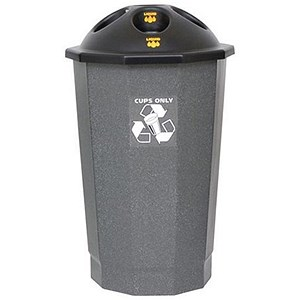 Image of Recycling Cup Bank - Granite