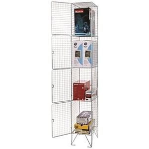 Image of Steel Wire Locker / 4 Door