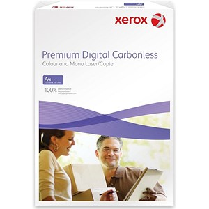 Image of Xerox Premium Digital Carbonless Paper / 3-Ply / Ream / White, Yellow & Pink