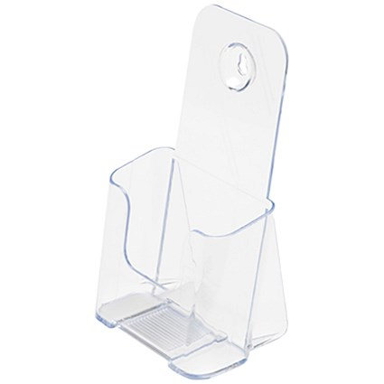 Standard Rigid Literature Holder / 1/3 x A4 / Clear