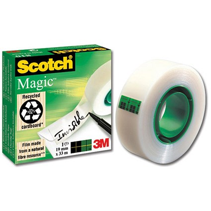 Scotch Magic Tape / 19mmx33m / Matt