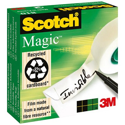 Scotch Magic Tape / 19mmx66m / Matt