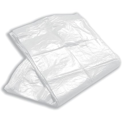 5 Star Swing Bin Liners, Light Duty, 40 Litre, 325x550x750mm, Clear, Pack of 100