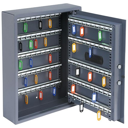 High Security Key Safe Electronic Key Pad and 30mm Double Bolt Locking 100 Keys